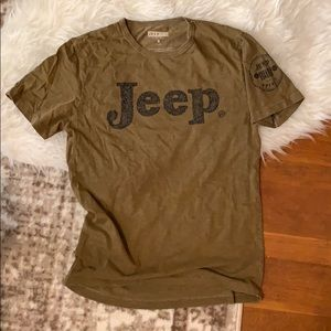Lucky Brand Jeep graphic tee